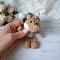 Игрушка для куклы Nici Волк  10 см ALB56