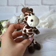 Игрушка для куклы Nici Жираф  13 см ALB57