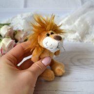 Игрушка для куклы Nici Лев 10 см ALB62