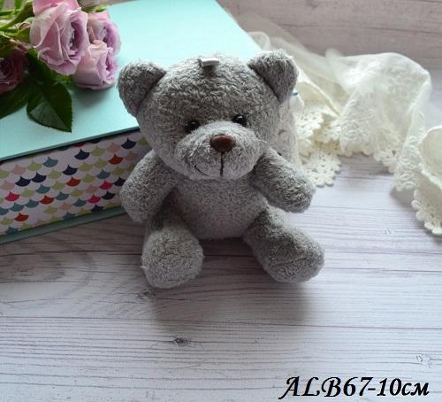 • Мишка серый. Размер 10 см Цена указана за 1 шт.