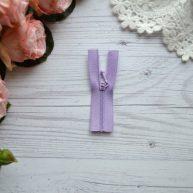 Молния для кукольной одежды 6.5 см фиолетовая AZ610