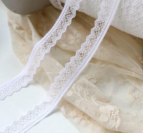 • Кружево-резинка экрю. Для белья, носочков кукле, декора кукольной одежды, шитья, скрапбукинга и прочего рукоделия. Ширина: 20 мм. Цена указана за 1м.