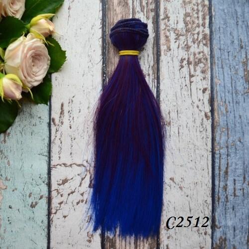 Волосы для кукол прямые C2512