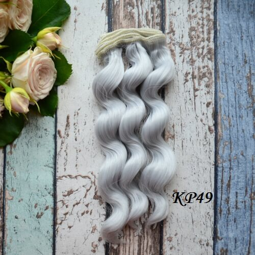 Волосы для кукол KP49