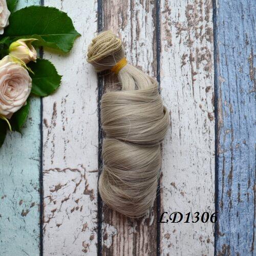 Волосы для кукол локоны LD1306