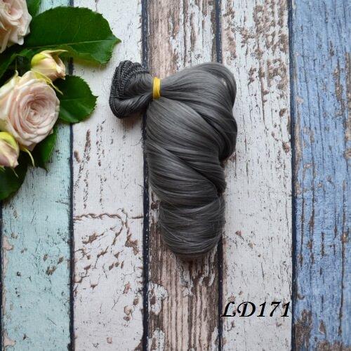 Волосы для кукол локоны LD171