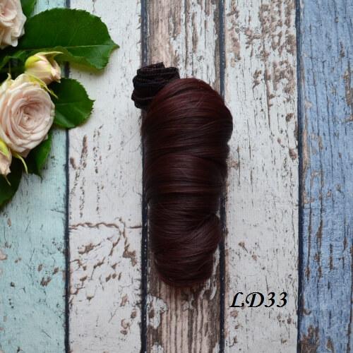 Волосы для кукол локоны LD33