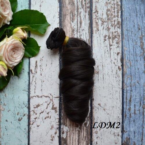 Волосы для кукол локоны LDM2