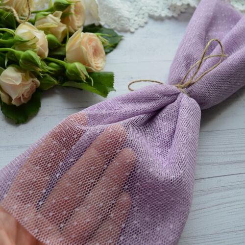 • <h5>Фатин средней жескости фиолетовый</h5> Ширина ткани 160 см. Цена указана за 1 отрез 1 отрез – 30*80см. 2 отреза - 30*160см ... 4 отреза- 60*160см …