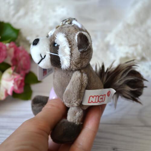 • Игрушка для куклы Енот. Размер 10 см. Цена указана за 1 шт.