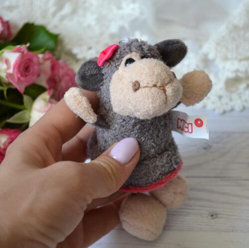 • Игрушка для куклы Овечка. Размер 11 см. Цена указана за 1 шт.