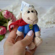 Игрушка для куклы Овечка супермен 11 см ALB75
