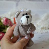 Игрушка для куклы Мишка 11 см ALB77