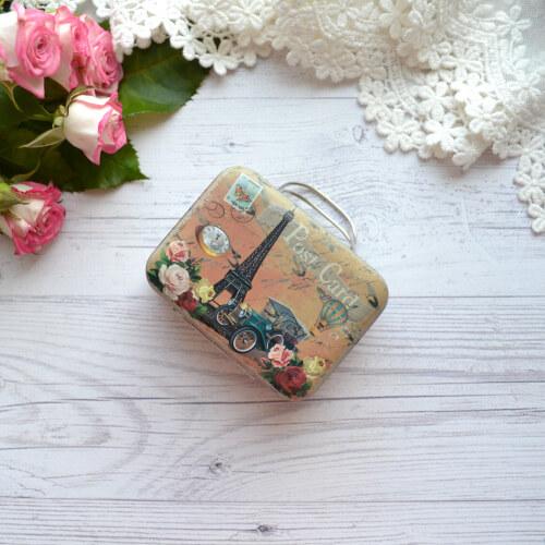 Сумка чемодан для куклы Париж ALR14