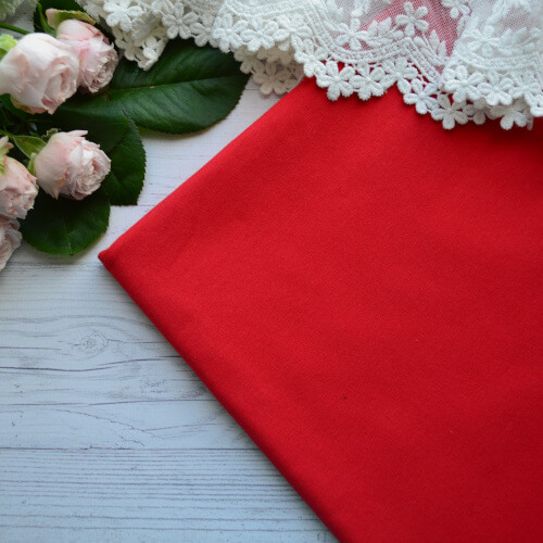 • Трикотаж для одежды красный. Ширина ткани 180см. Цена указана за 1 отрез 1 отрез – 20*50см 2 отреза - 40*50см 3 отреза - 60*50см 4 отреза - 80*50см …