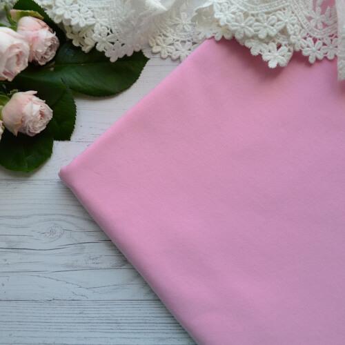 • Трикотаж для одежды розовый. Ширина ткани 180см. Цена указана за 1 отрез 1 отрез – 20*50см 2 отреза - 40*50см 3 отреза - 60*50см 4 отреза - 80*50см …