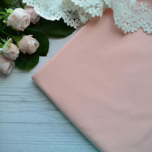 • Трикотаж для одежды персиковый. Ширина ткани 180см. Цена указана за 1 отрез 1 отрез – 20*50см 2 отреза - 40*50см 3 отреза - 60*50см 4 отреза - 80*50см …