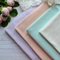 Набор тканей для белья кукол TKN002