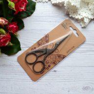 Ножницы для  рукоделия Цапельки коричневые 11,5см AS036