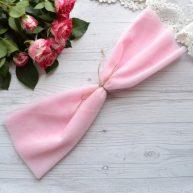 Фатин средней жесткости розовый Отрез 30*150см  TF30