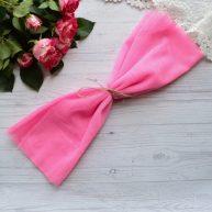Фатин средней жесткости розовый Отрез 30*150см  TF31