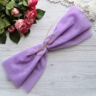 Фатин средней жесткости фиолетовый Отрез 30*150см  TF35