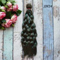 Искусственные волосы для кукол SH24 Шелк